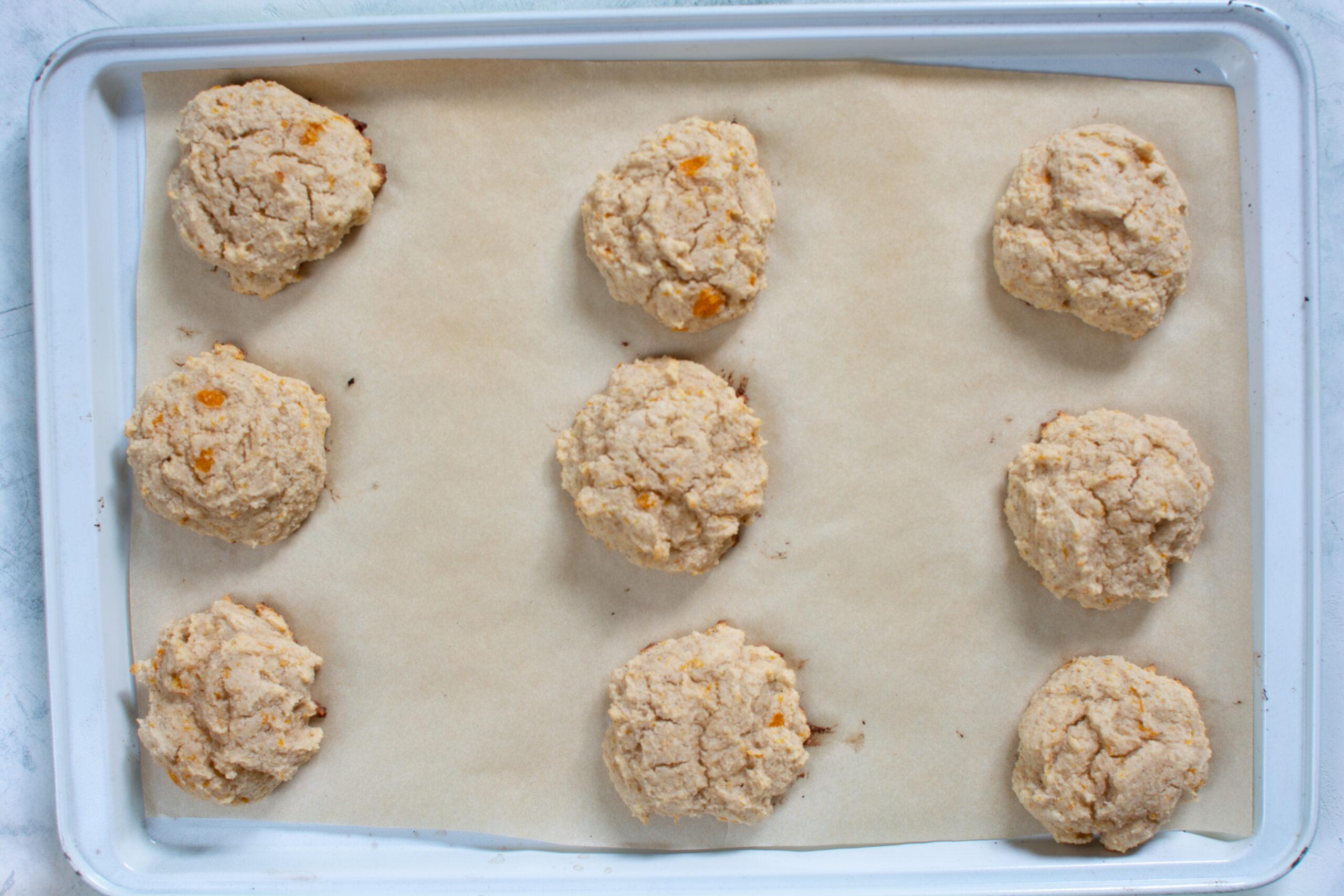 Baked cookies keto pumpkin cookies