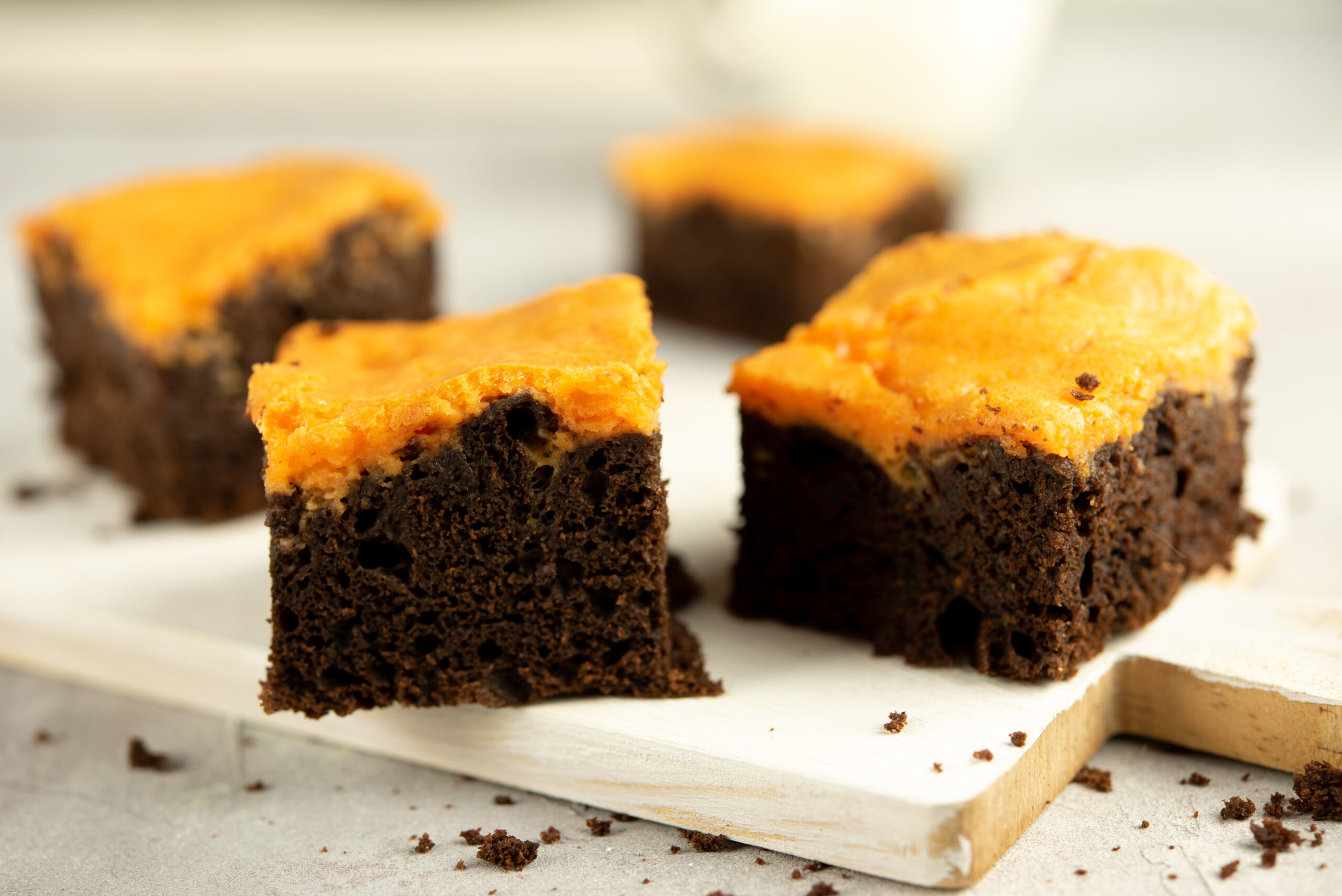 Keto Halloween Brownies