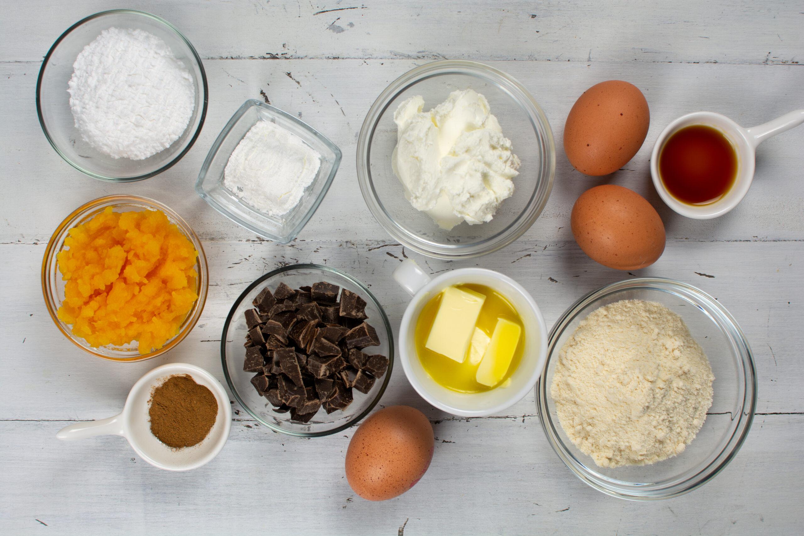 Keto Chocolate Chip Pumpkin Cookies Ingredients
