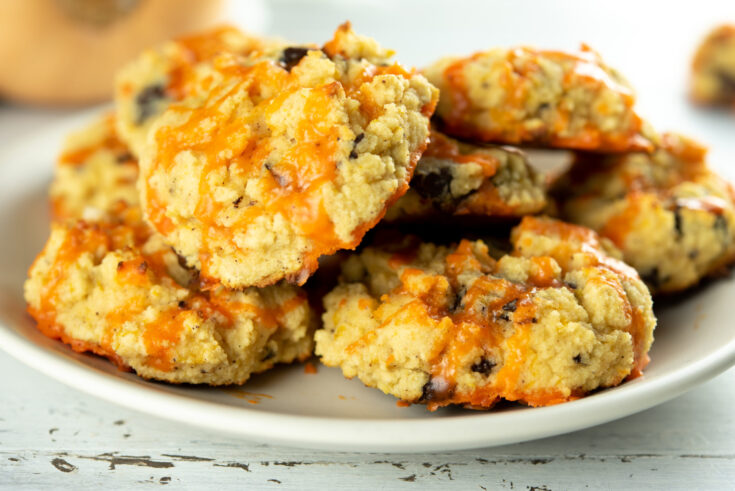 Keto Chocolate Chip Pumpkin Cookies-