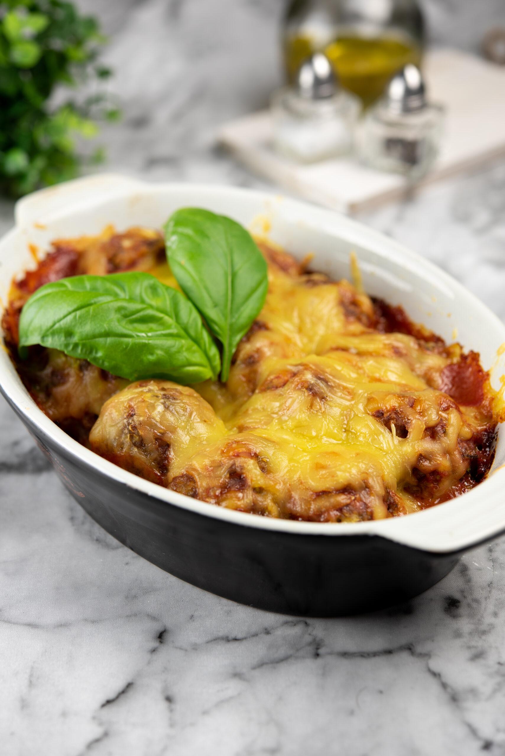 baked meatball casserole